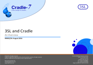 Cradle Overview Presentation