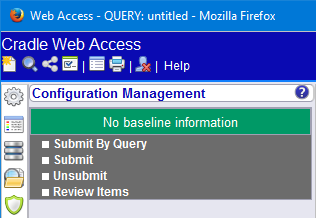 CM Sidebar in Web Access