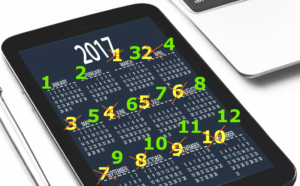 Calendar - based on image from pexels.com