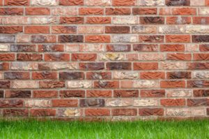 bricks, wall garden