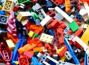 LEGO bricks based on image from rick mason via unsplash