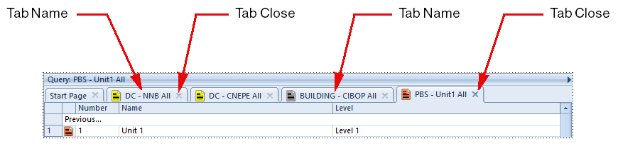 Using Tabs in 3SL Cradle WorkBench