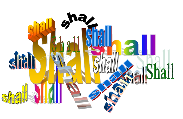 counting the shalls as a method of determining contractual requirements