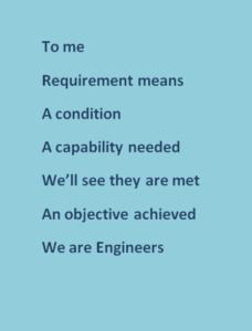 An Engineering poem written by 3SL