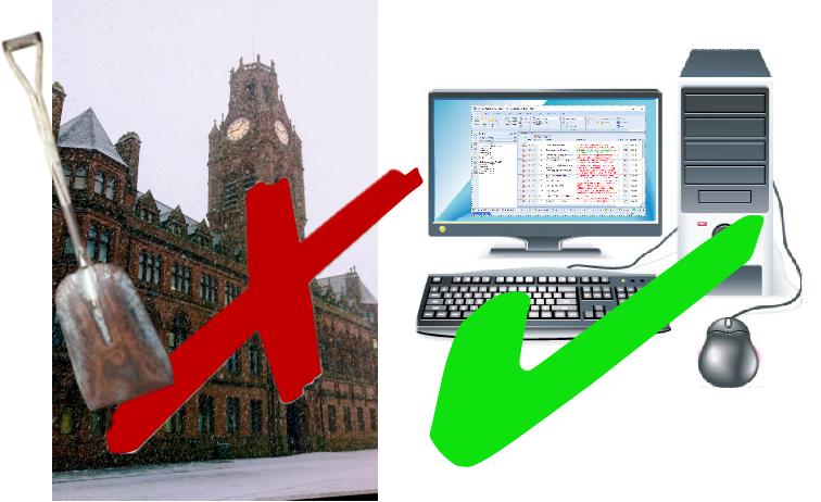 Software as a ServieNOT Snow and a Shovel