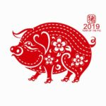Chinese year of the pig 2019