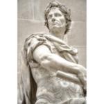 Julius Caesar statue from Pexels.com