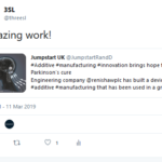 Tweet about @renishawplc from @JumpstartRandD