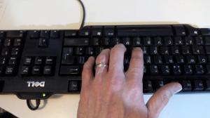 Lip-Flaoor keyboard font