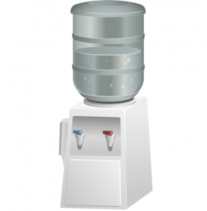 Watercooler based on image from publicdomainvectors.org