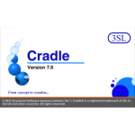 Cradle 7.6 splash screen