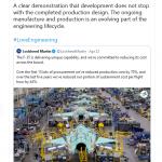 Lockheed Martin May 2021 Tweet