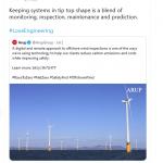 Arup Tweet July 2021
