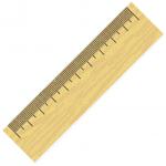 "Ruler Segment - illustrating ""Measure"""