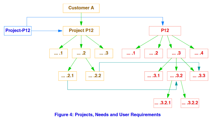 Projects, Needs and User Requirements