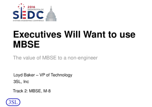 MBSE for Executives