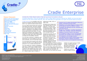 Cradle‐Enterprise